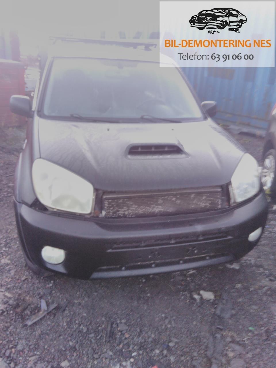 Toyota RAV4 2000-2006 (Type II) delebil , Motorkode: 1CD-FTV