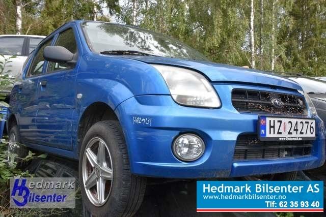 Subaru Justy, 2003-2007 (Type III)   delebil