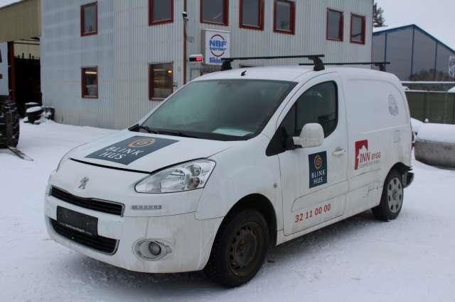 Peugeot Partner, 2008-2015 (Type II, Fase 1)   delebil