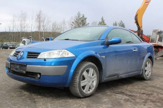 Renault Megane, 2003-2005 (Type II, Fase 1)   delebil