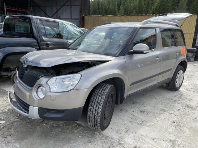 Škoda Yeti, 2009-2013 (Fase 1)   delebil , Motorkode: CFHA