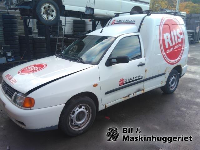 VW CADDY 1995-2004 (TYPE II) delebil , Motorkode: AUD, Girkassekode: DXB