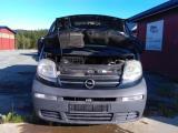 OPEL VIVARO A, 2001-2006  delebil , Motorkode: F9QU7
